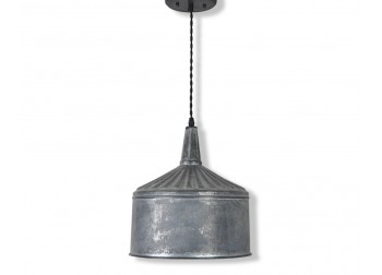 Zinc Funnel Pendant Light - XL-B1