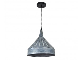 Zinc Funnel Pendant Light - XL-B2