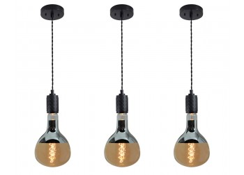 XL Edison Pendant - Black