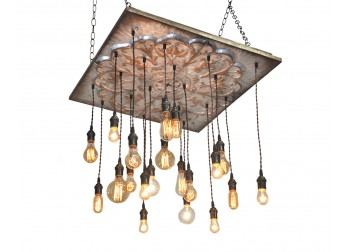 20 Pendant Light Tin Chandelier