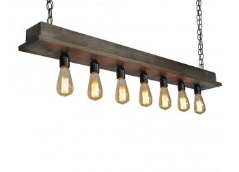 7 Light Beam Style Chandelier