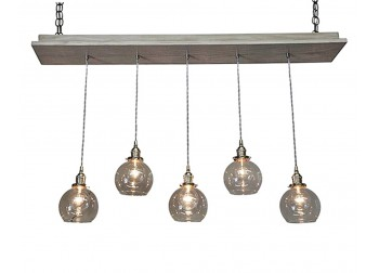 5 Globe Pendant Chandelier