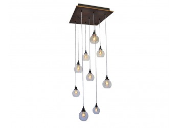 9-Light Globe Pendant Chandelier