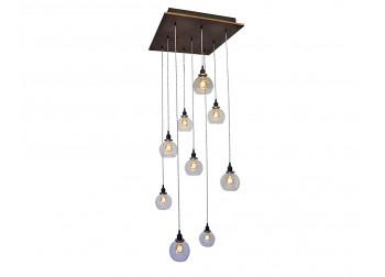 9-Light Globe Pendant Chandelier