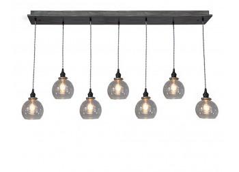 7 Light Globe Pendant Chandelier