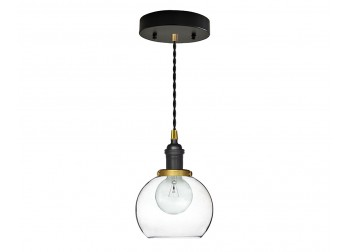 Globe - Mini Pendant-Black