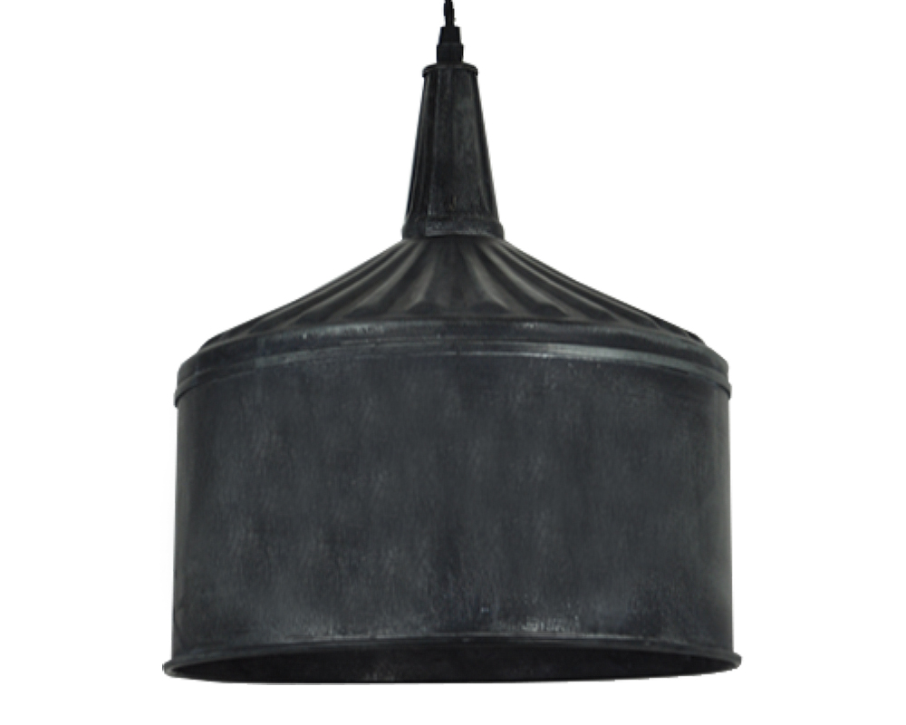Black Funnel Pendant Light - XL-A1