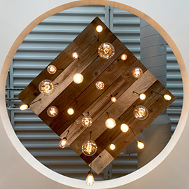 the view from below a multi pendant chandelier