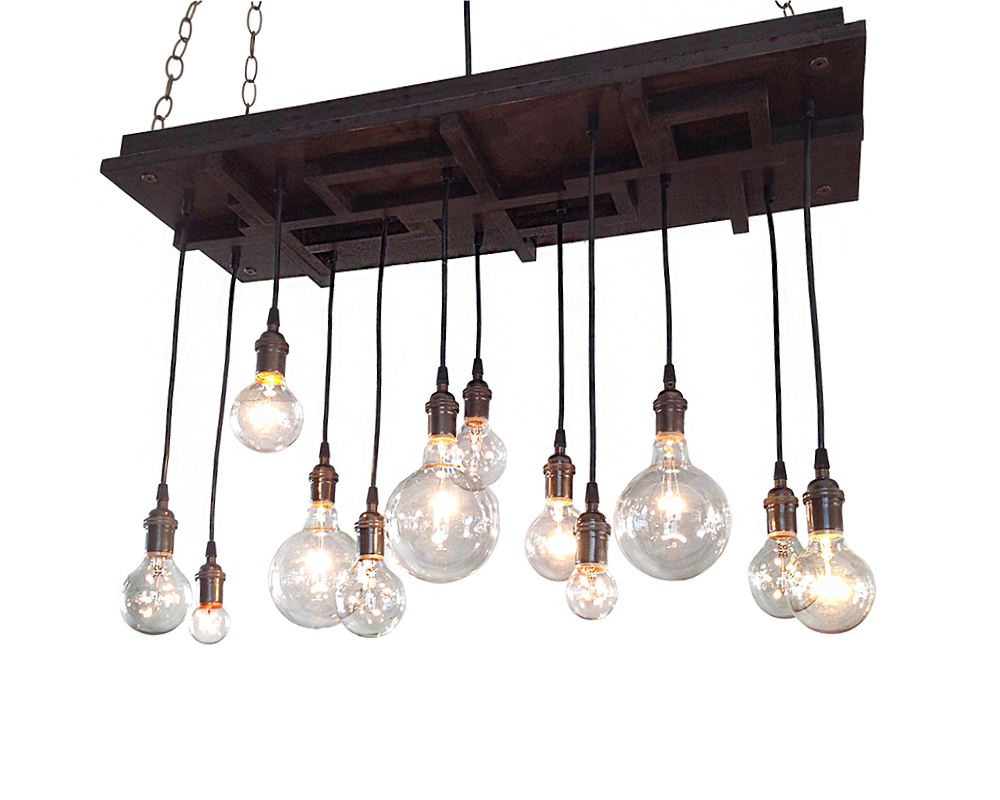 12-Light Modern Chandelier