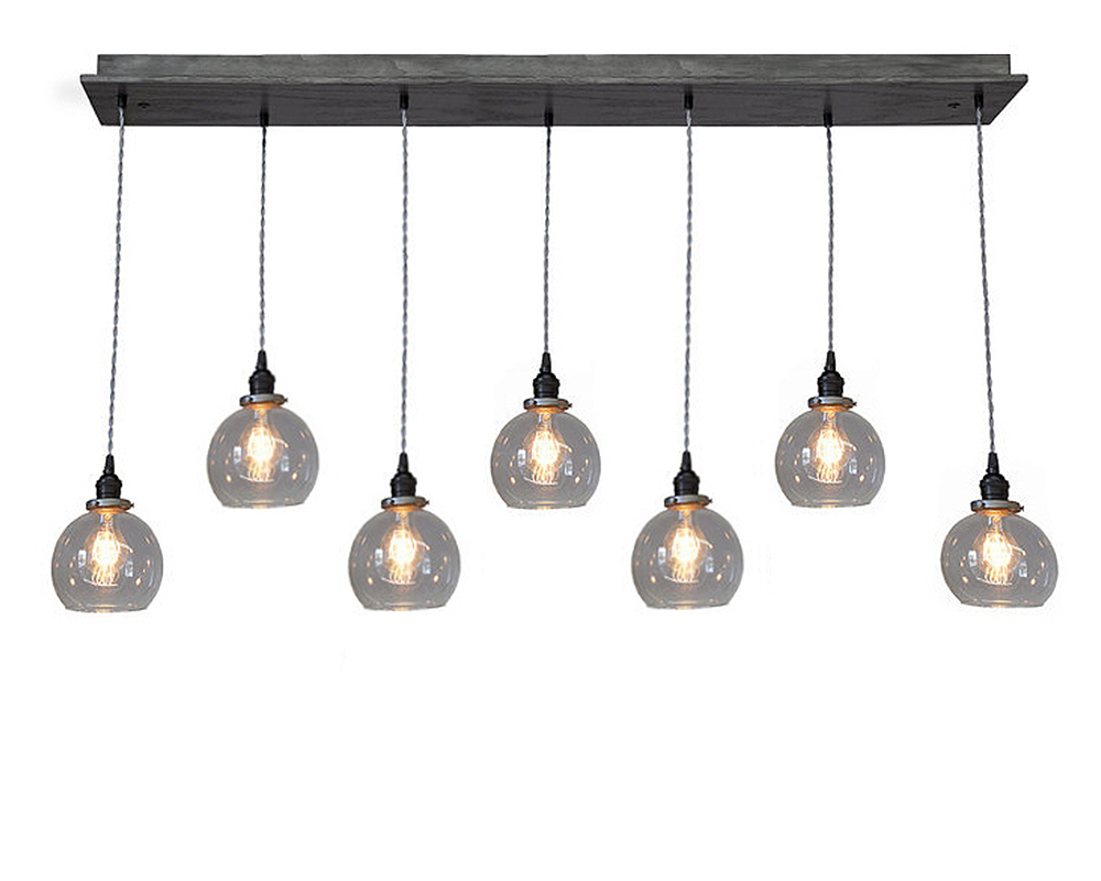 7 Light Globe Pendant Chandelier