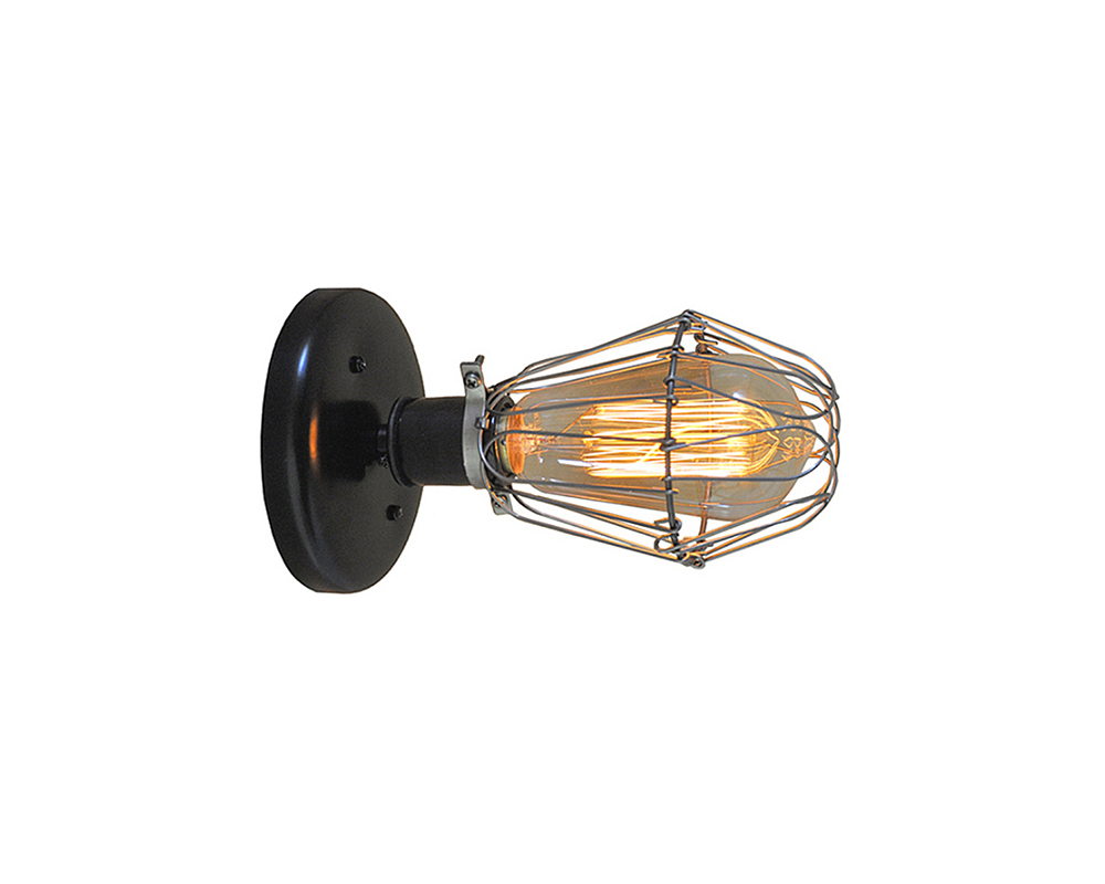 Hinge Cage Wall Sconce Light