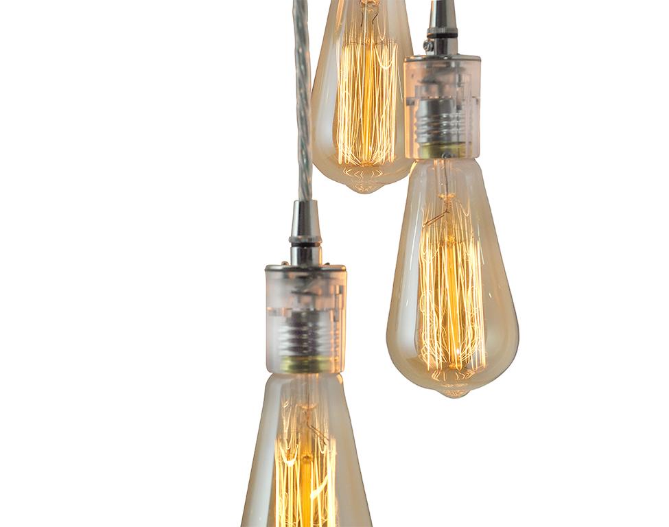 5 Light Multi-Pendant Cluster