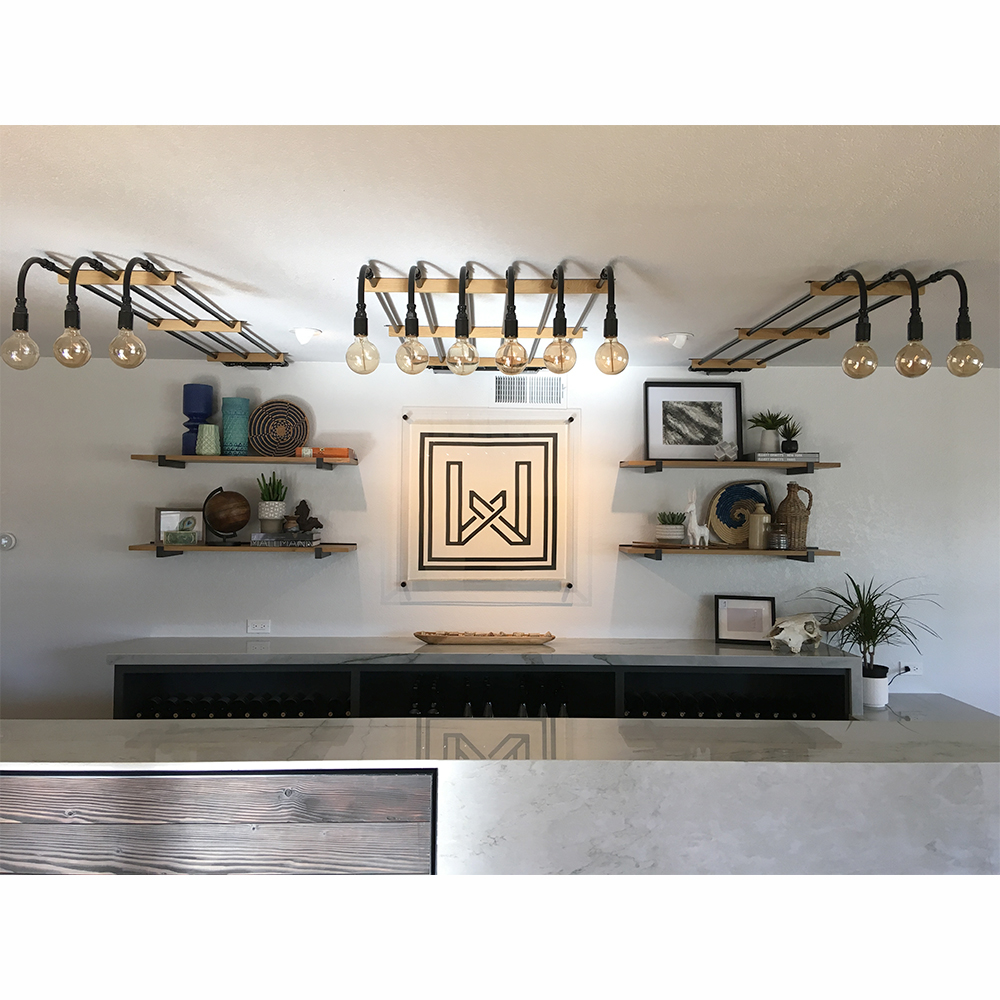 custom pipe light by industrial lightworks